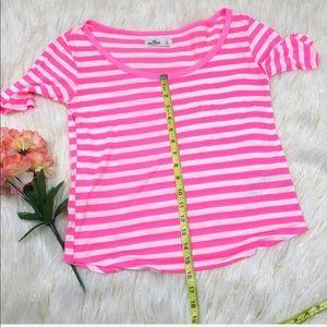 Hollister Tops - Hollister Stripe Shirt Sz S